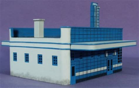 ho scale imex greyhound bus station