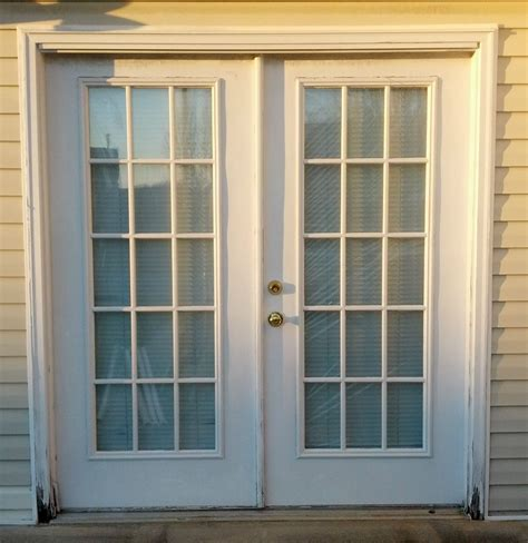 Weatherproof Exterior Door Steel Doors Indoor Outdoor Interior Or Exterior Strong White Ebay