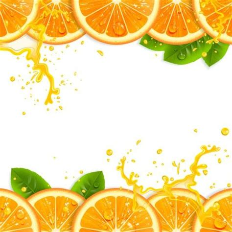 juice design background fresh orange with juice background vector 03 free download