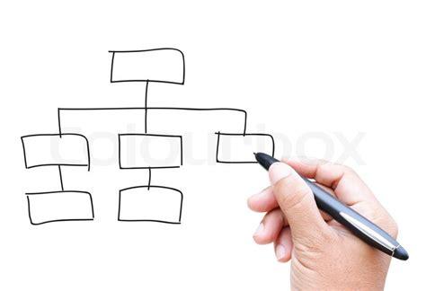 draw organization chart organization chart by drawing stock photo colourbox