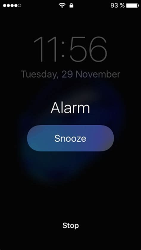 how to snooze or stop an iphone alarm without looking at