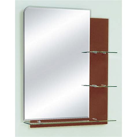 bathroom mirror replacement glass zhj26 bathroom mirror with glass shelves 26 quot x 32