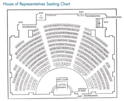The House Of Representatives Seating Plan I Did My Granite State Ambassador Shift At The New Hshire State House Concord This