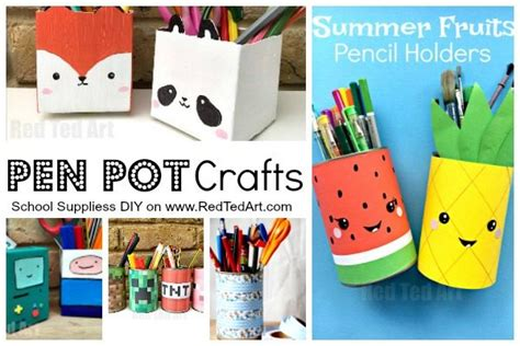 Cool Small Room Ideas school supplies diy ideas red ted art s blog