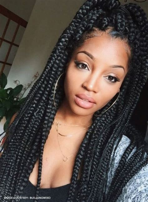 braids for a big face 15 awesome individual braid hairstyle ideas to copy right now