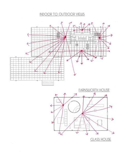 farnsworth house diagrams glass houses farnsworth house and study on