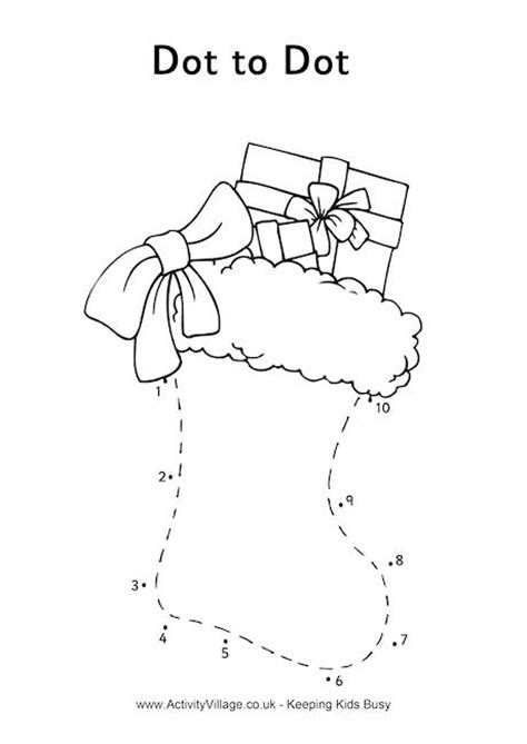 printable dot to dot for christmas free printable christmas dot to dot worksheets free