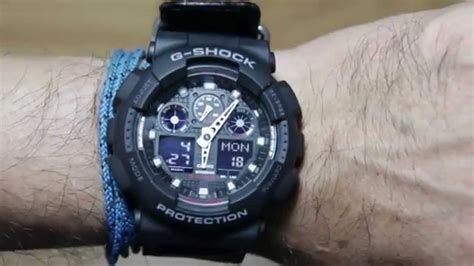 Casio G Shock Ga 400by 1a Original casio g shock ga 100mc 1a with cloth leather band