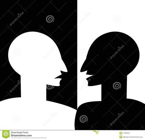 imagenes blanco y negro psicologia concepto de personalidad partida stock de ilustraci 243 n
