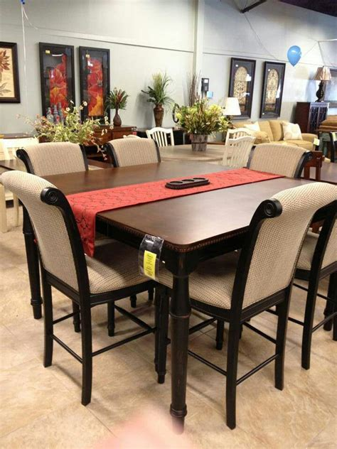 pub height dining room table and chairs home decor