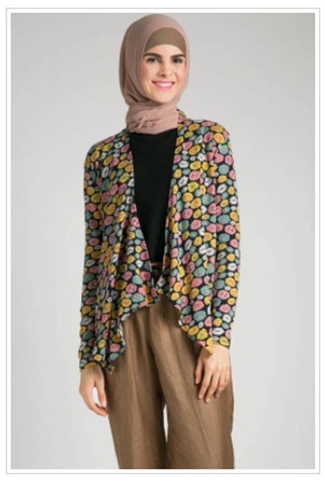Setelan Dress Outer Muslim Wanita Denisa inspirasi baju muslim modern wanita model two pieces dengan outer