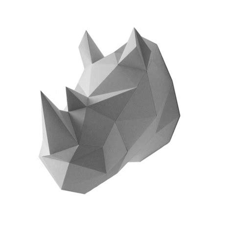 Rhinoceros Origami - origami rhinoceros facile