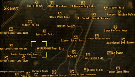 fallout new vegas repconn storage room safe repconn test site the fallout wiki fallout new vegas and more