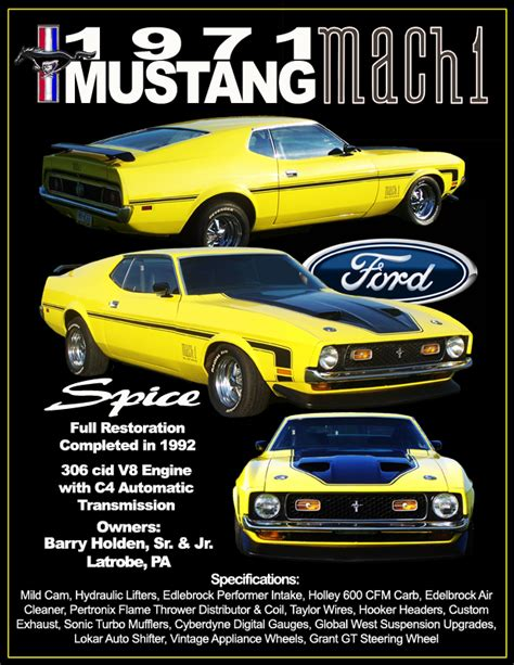 auto body repair training 1971 ford mustang on board diagnostic system spice 1971 mustang mach 1 by rocketfoot on