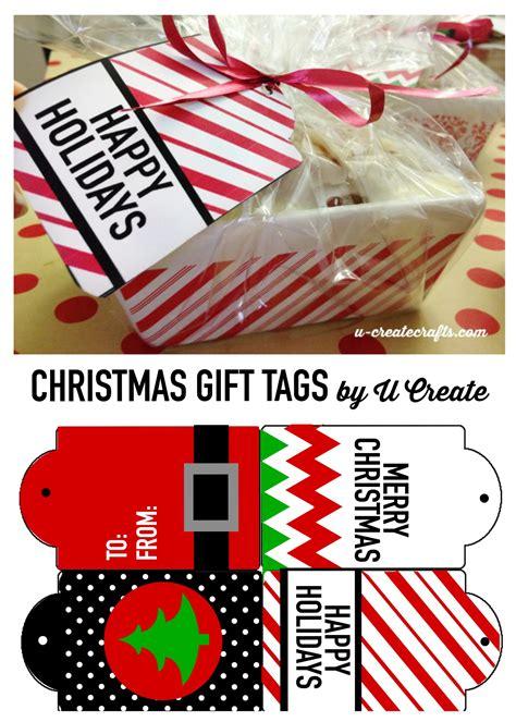 free printable christmas tags u create