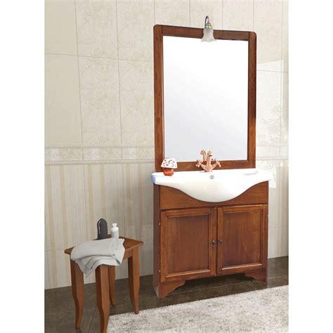 mobile bagno arte povera mobile bagno arte povera cm 85 con specchio