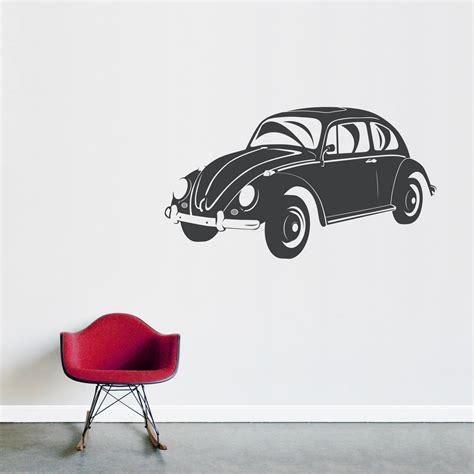 vw bug wall decal