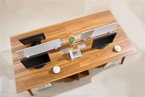 ufficio lavoro como scrivania moderna isola di lavoro da ufficio per 4 postazioni