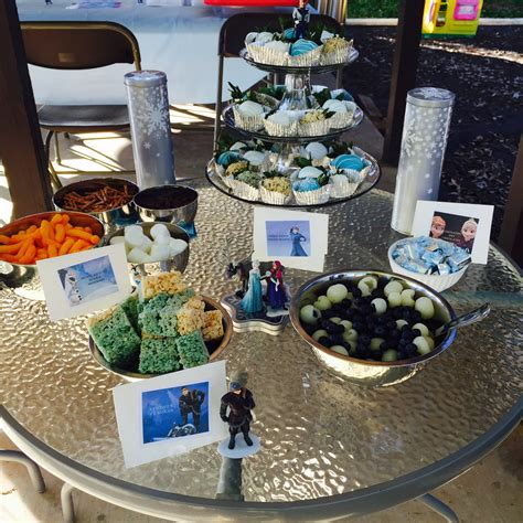 frozen themed birthday food frozen themed birthday party food the how to duo