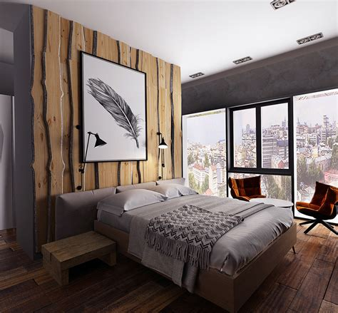 contemporary rustic bedroom three homes with a contemporary twist on rustic design