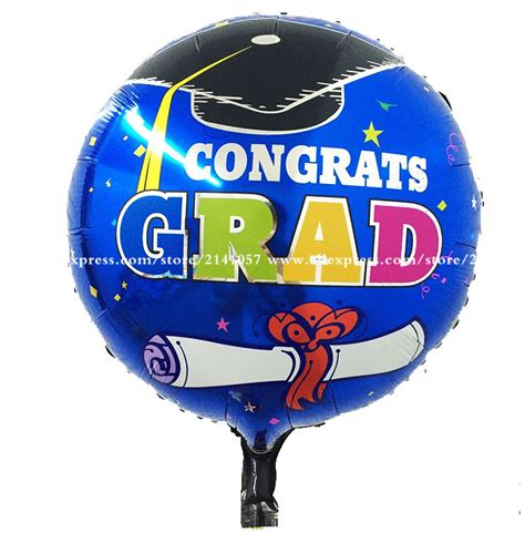 Graduation Foil Balon Limited popular graduation balloon decorations buy cheap graduation balloon decorations lots from china