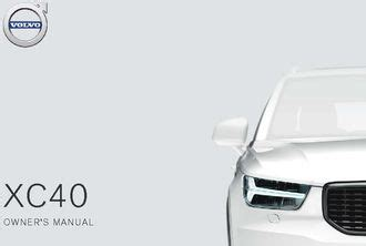2019 Volvo Xc40 Owners Manual by 2019 Volvo Xc40 Owner S Manual Pdf 622 Pages