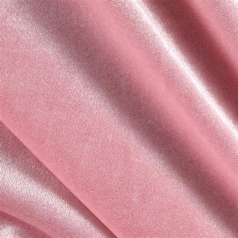 velvet material for upholstery stretch velvet knit pink discount designer fabric