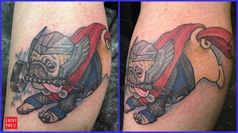 kyklops tattoo color pug tattoos on legs part 2 pug gallery