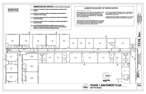 Asbestos Services Asbestos Abatement Plan Template