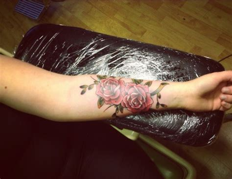 tattoo flower forearm tattoos on forearm high fashion update