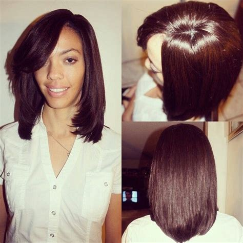 Bob With Brazilian Weave | pre cut weave bob new style for 2016 2017
