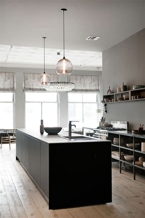 new york kitchen interior design loft in new york cool chic style fashion