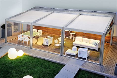 tettoie apribili il pergolato modulabile con tettoia apribile abri