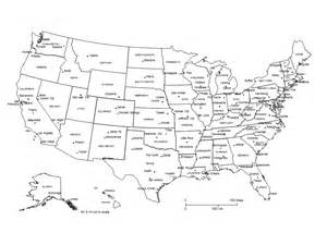 usa powerpoint map clipped with capital cities major