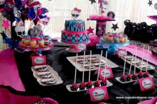 Cake Decorating 101 Super Creepy And Awesome Monster High Party Ideas