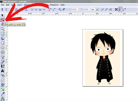 inkscape tutorial trace bitmap how to trace an image using inkscape 6 steps with pictures