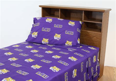 lsu comforter set queen lsu tigers bedding lsu bedding set