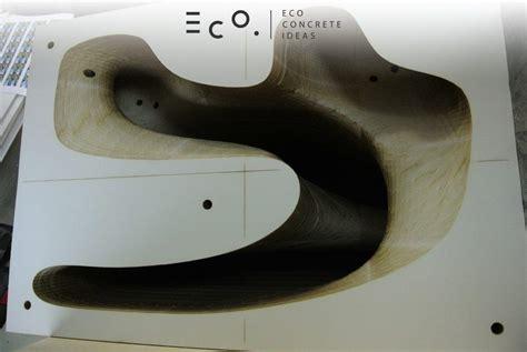 how to make a concrete bench mold eco concrete creates this amazing bench using highcon