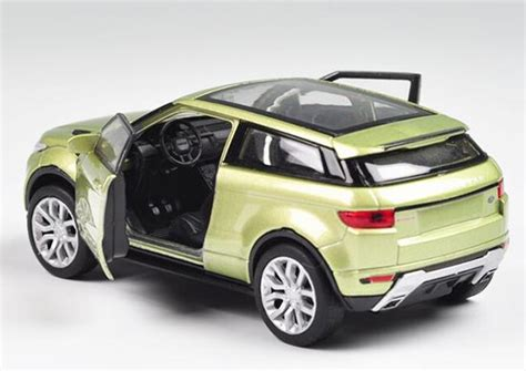 light green range rover kid 1 36 white light green red diecast range rover