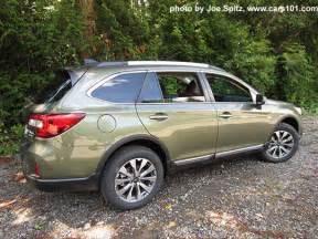Subaru Outback Green 2017 Outback Exterior Photographs