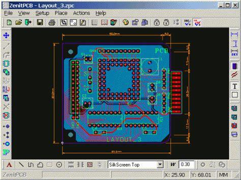 zenitpcb layout elektronische schaltungsentwurf die besten freien pcb