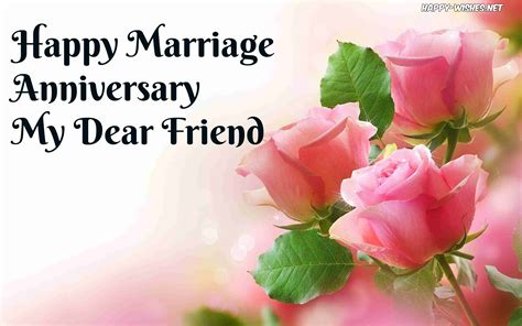 Wedding Anniversary Images For Friends by Happy Anniversary Wishes For Friends Quotes And Images