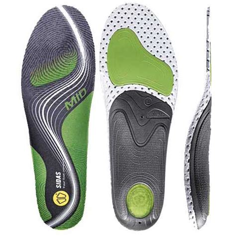 Sidas 3feet Activ Low Arch Insoles sidas 3 activ mid arch orthotic insole anything technical