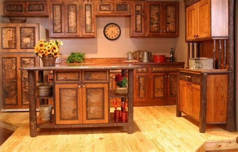 rustic kitchen furniture rustic furniture design for residential furnishings by old