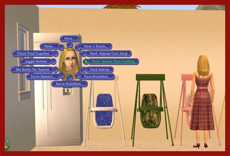 sims 2 baby swing mod the sims upd animated infant toddler swing w