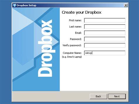 Dropbox Register | registration details
