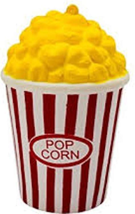 Squishy Pop Corn bol squishy popcorn