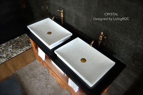 24 Inch Drop In Kitchen Sink White Marble Vessel Sink Bathroom Basin 24 Inch
