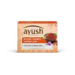 Lever ayush natural fairness saffron soap 100g