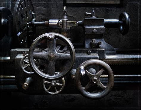 Long Exposure Shots Of Beautiful Old Machines Boing Boing
